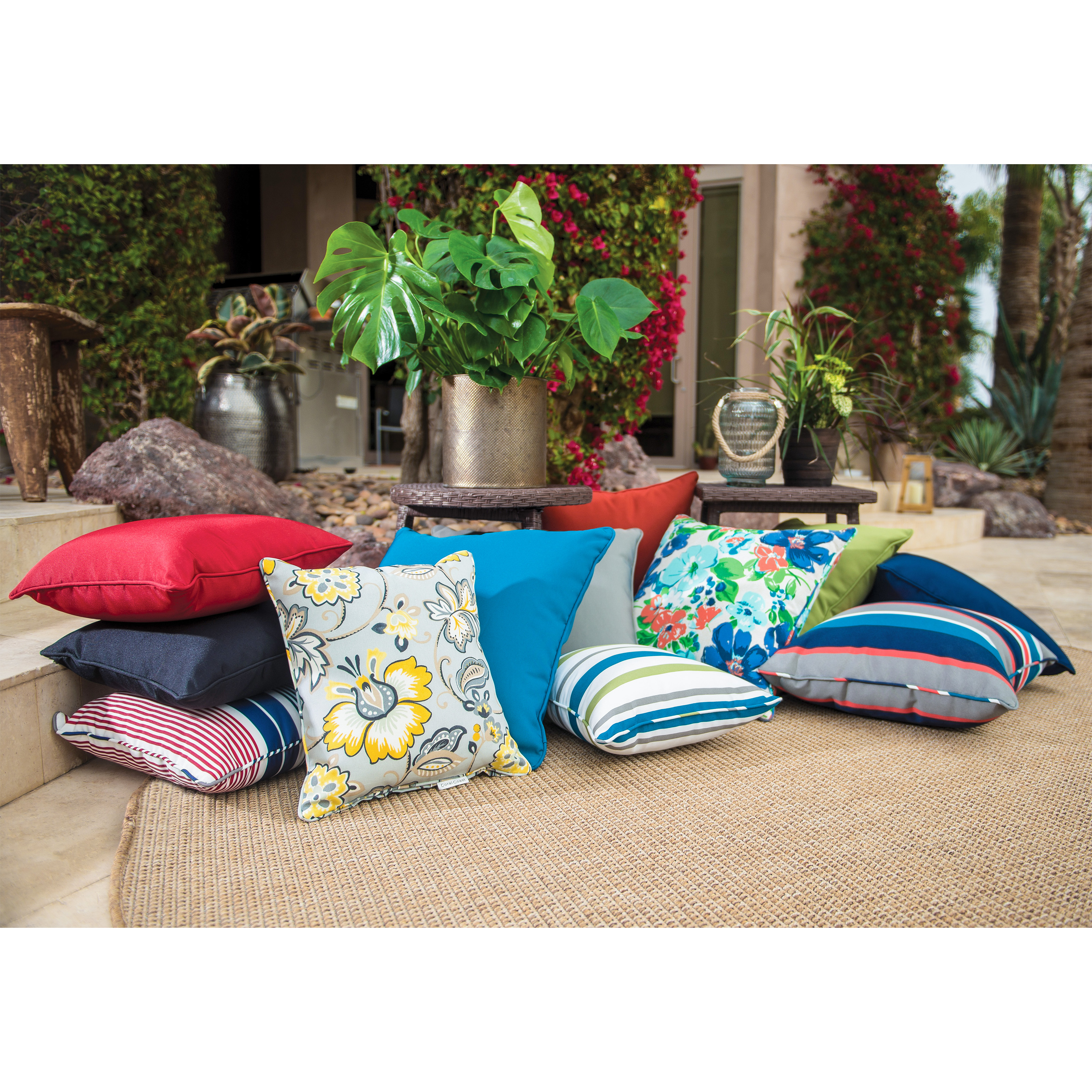 pillow one pier coastal themed outdoor at throw cushion beaded blanket starfish pillows gallery imports