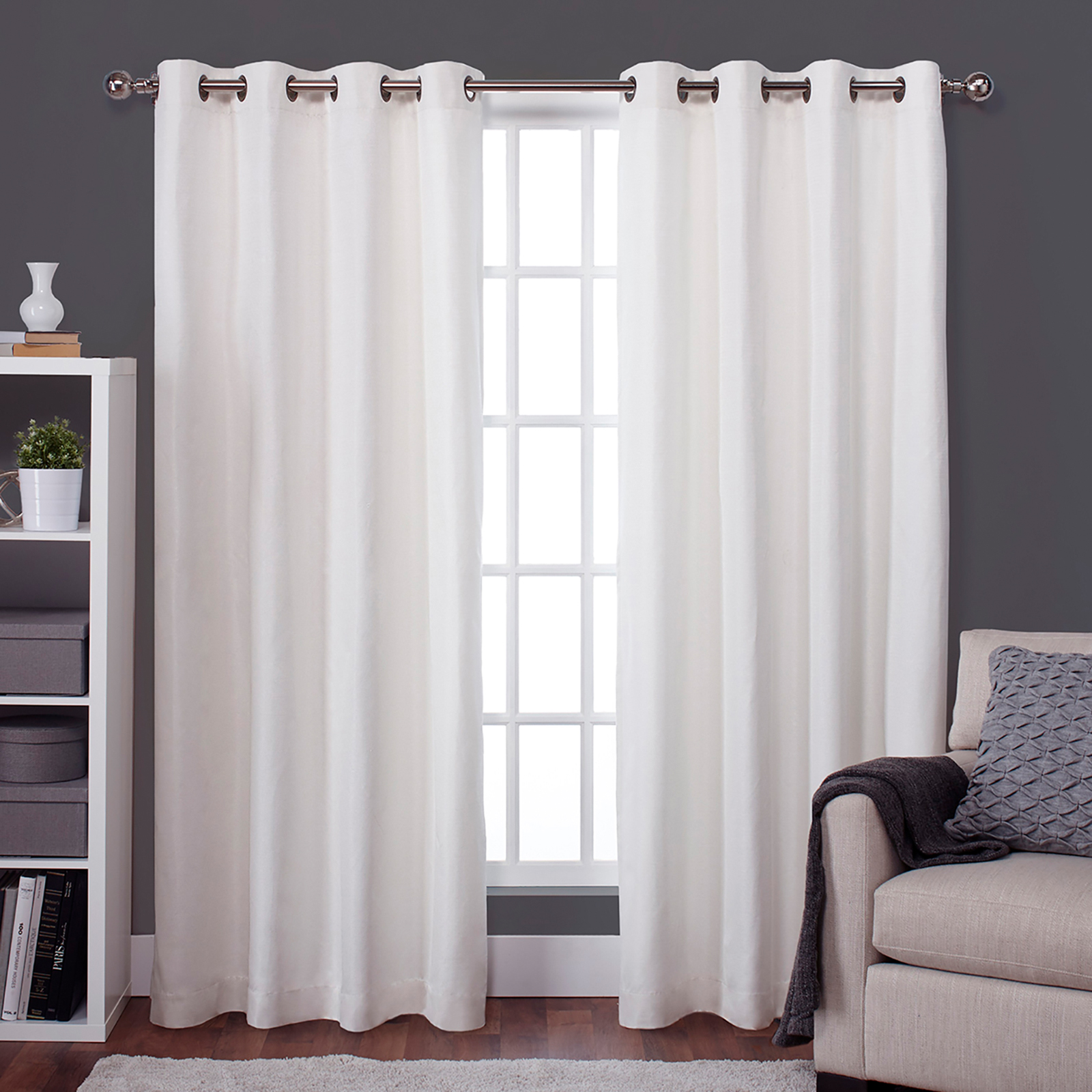 target faux silk darkening curtains a p curtain thermal panel lined jardin panels room shield