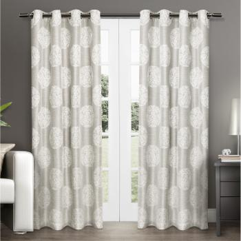 Exclusive Home Akola Grommet Curtain Panel Pair