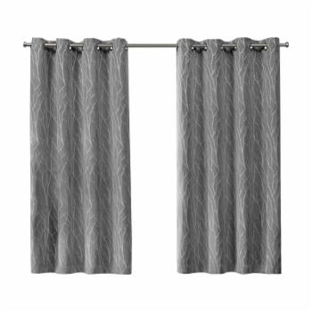 Exclusive Home Forest Hill Blackout Grommet Curtain Panel Pair