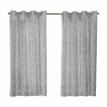 Exclusive Home Oakdale Grommet Curtain Panel Pair