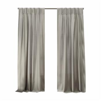 Exclusive Home Loha Button Top Curtain Panel Pair