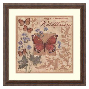 Amani Art Butterflies and Flowers by Anita Phillips