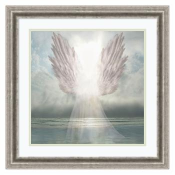 Amani Art I Am Guided (Angel) by David M (Maclean)