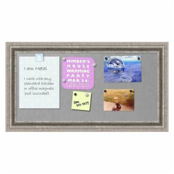 Amanti Art Bel Volto Framed Magnetic Board