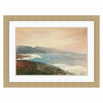Amanti Art Lands End Crop Framed Print by Julia Purinton