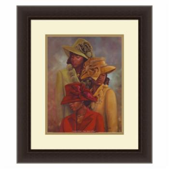 Amanti Art Crowns of Glory Framed Print