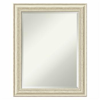 Amanti Art Country White Wash Wall Mirror - 23W x 29H in.