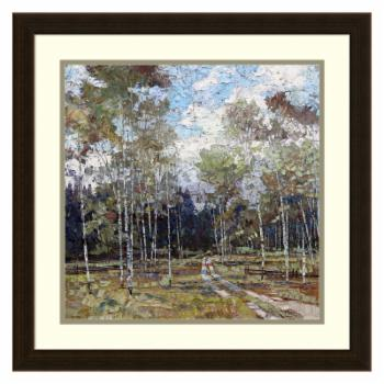 Amanti Art Framed Print - Summer in the Hills by Robert Moore