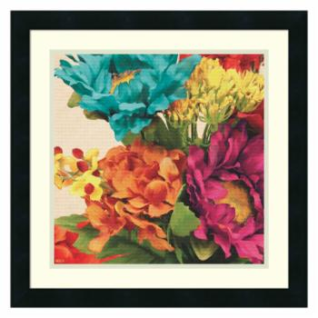 Amanti Art Framed Print - Pop Art Flowers I by Jocelyne Anderson