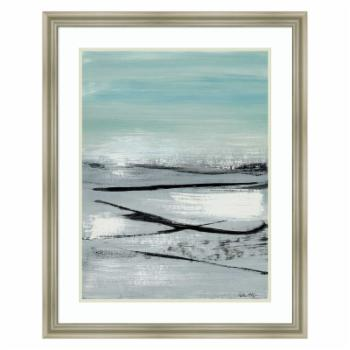 Amanti Art Framed Print - Beach II Abstract by Heather McAlpine