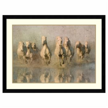 Amanti Art Framed Print - Run Free by Phyllis Burchett