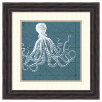 Amanti Art Framed Print - Coastal Menagerie VII by Vision Studio