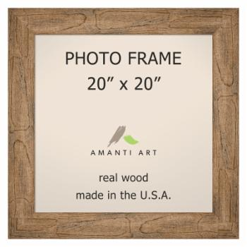 Amanti Art Owl Brown Wall Picture Frame