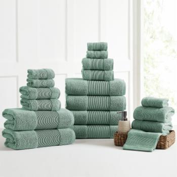 AirCloud Cotton Solid Towel Set