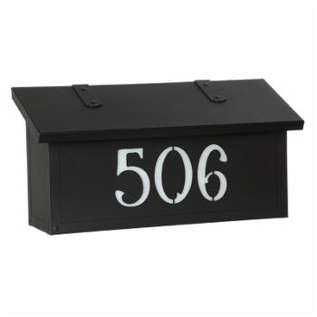 Americas Finest Lighting Classic Horizontal Mailbox With House Numbers