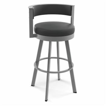 Amisco Browser 30 in. Swivel Barstool