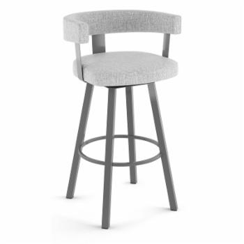 Amisco Parker 26 in. Swivel Counter Height Stool