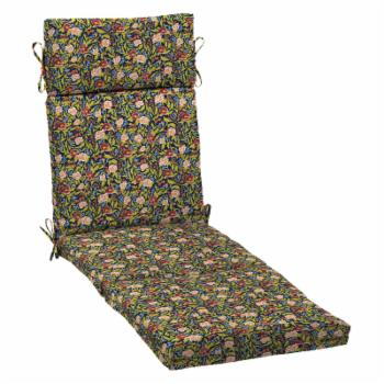 Arden Selections Cecelia Floral Outdoor Chaise Cushion