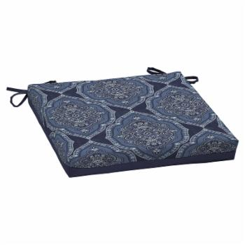 Better Homes & Gardens Blue Medallion Outdoor Dining Seat Pad