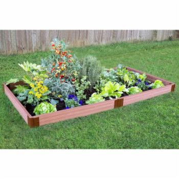 Frame It All Tool-Free Composite Raised Garden Bed Kit - 8L x 4W x .46H ft.