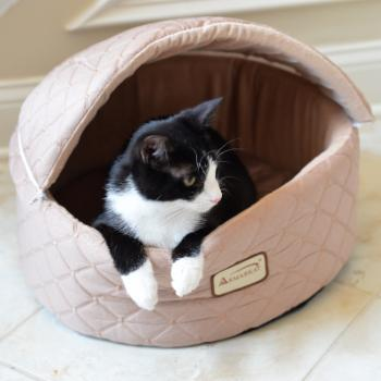 Armarkat Cat Bed - Light Apricot