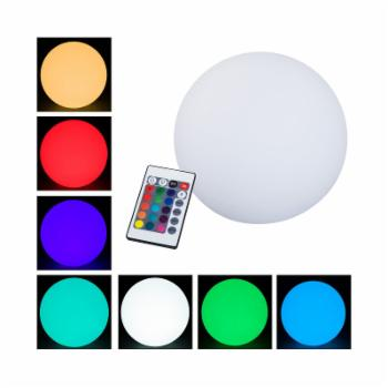 Outsunny Waterproof Color Changing Outdoor Globe Light
