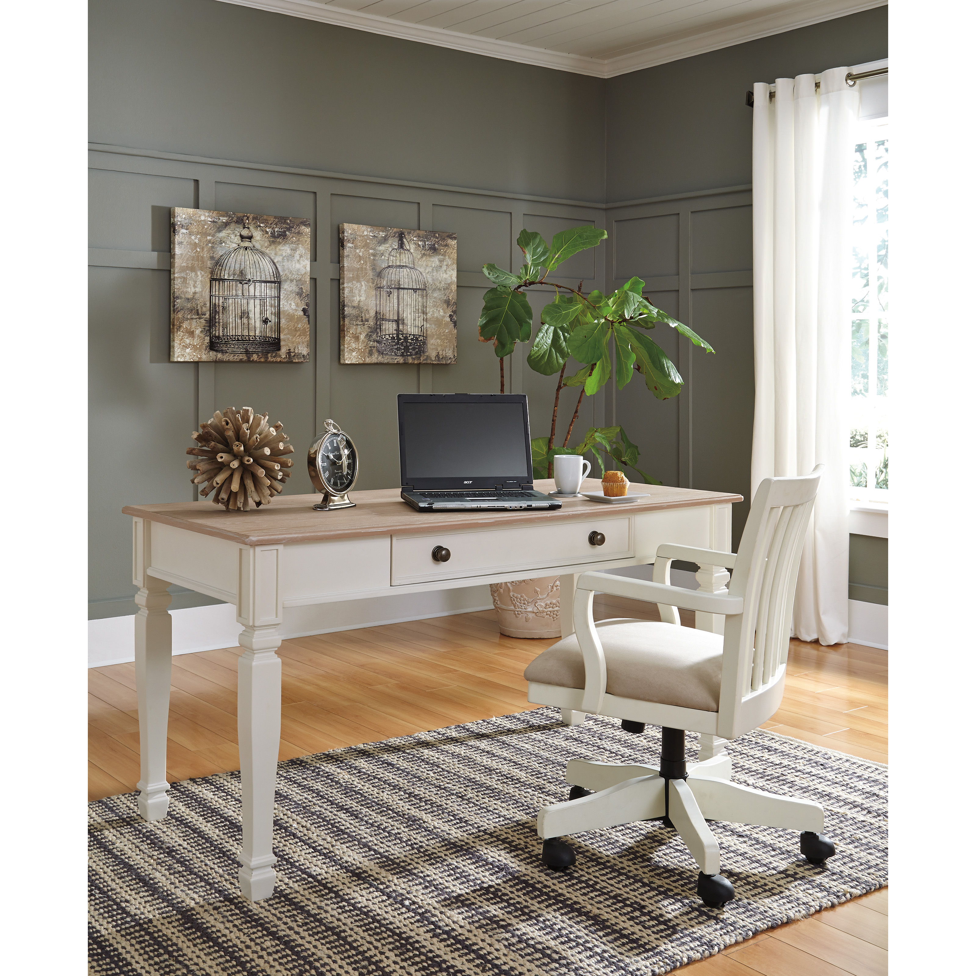 desk design contemporary furniture harpoli office by products signature item home desks number ashley