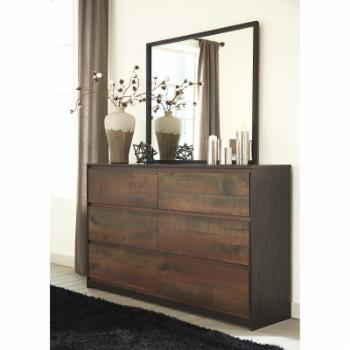 Signature Design by Ashley Windlore 6 Drawer Dresser with Optional Mirror
