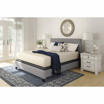 Signature Design by Ashley 10 in. Chime Memory Foam Mattress