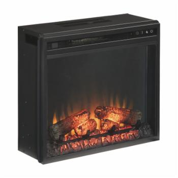 Signature Design by Ashley Entertainment Accessories Electric Wood Log Fireplace Insert