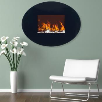 Northwest Electric Fireplace with Wall Mount