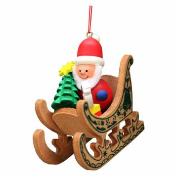 Christian Ulbricht Santa Sled Ornament