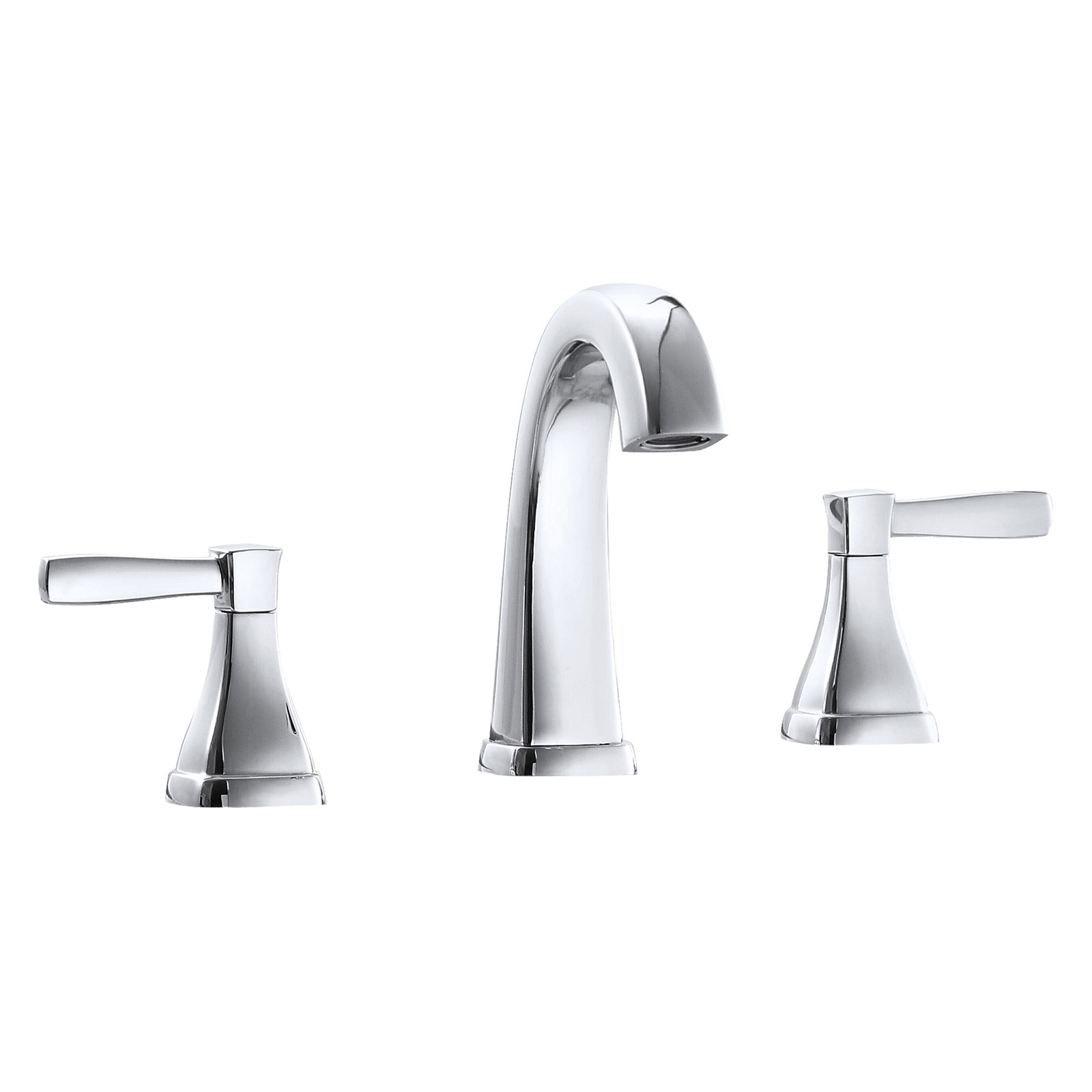 Borhn B52215 Ossimo 8 Lav Faucet Lever Handles Brushed Nickel