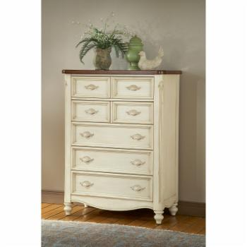 American Woodcrafters Chateau 5 Drawer Chest