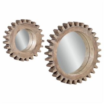 Sprockets Wall Mirrors - Set of 2