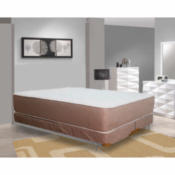 Continental Sleep 14 in. Firm Fully Assembled Orthopedic Innerspring Mattress and 5 in. Split Box Spring