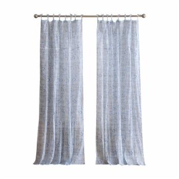 Peach and Oak Yasmin Curtain Panel