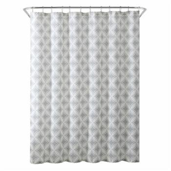 Freshee Cathedral Fabric Shower Curtain