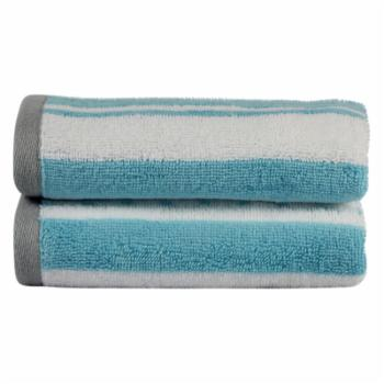 Freshee Striped Cotton Hand Towel - Set of 2
