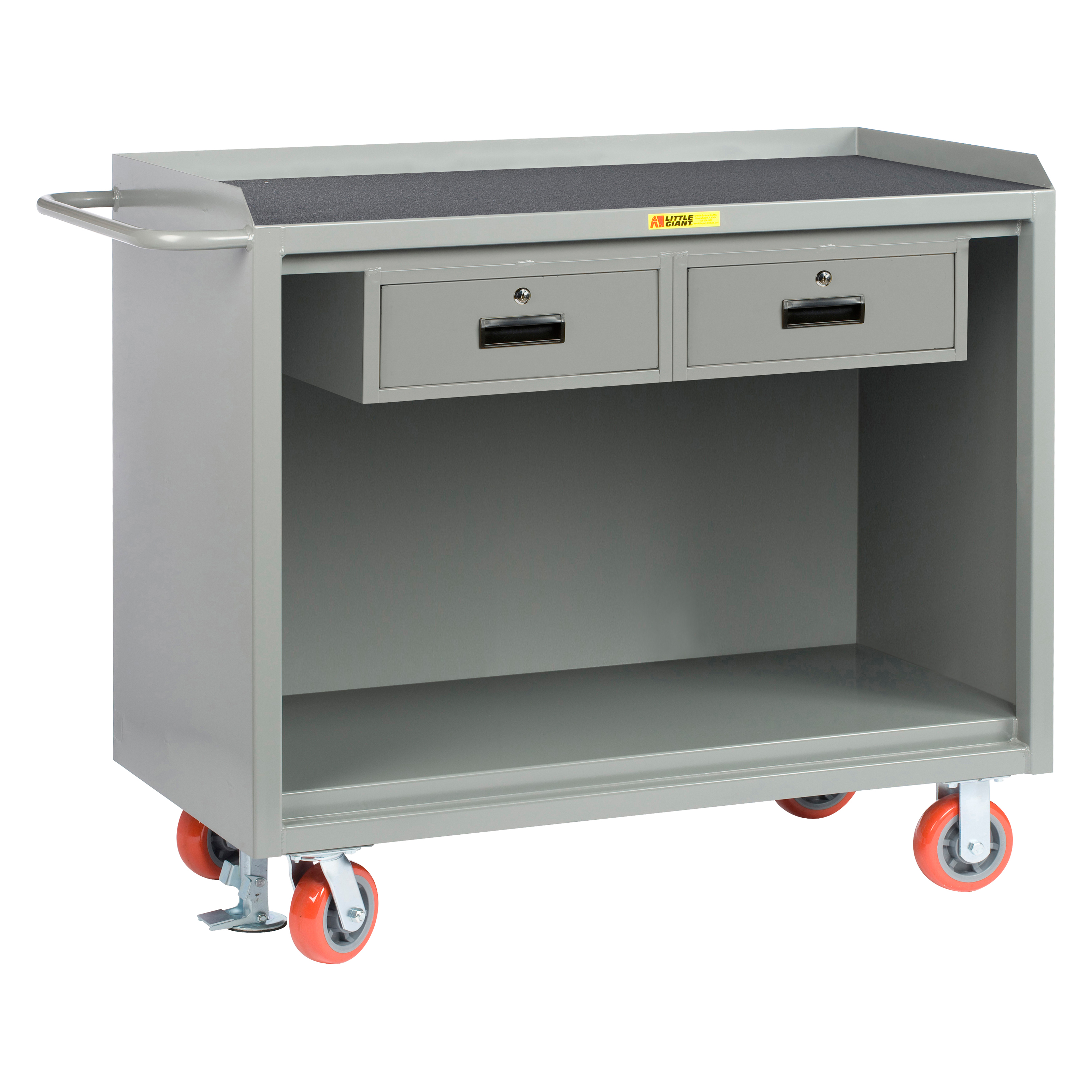 wood storage hd top image rolling garage cabinet utility drawer seville garden cabinets one workbench four