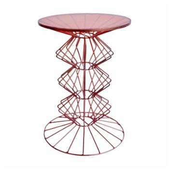 Benzara Antiquely Stunning Orianne Side Table