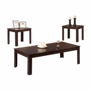 Benzara Fine 3-Piece Occasional Table Set