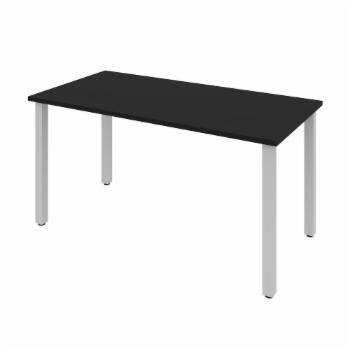 Bestar 60 in. Desk with Square Metal Legs