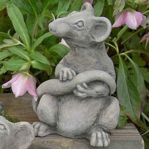 Ratsmore The Rat Garden Statue
