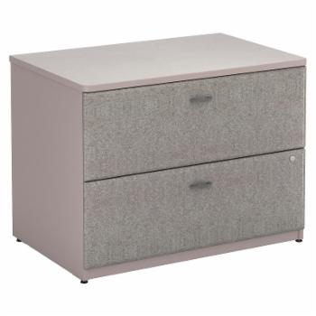 Bush Series A Lateral File Cabinet - 2 Drawer
