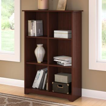 Cabot 6-Cube Bookcase - Harvest Cherry
