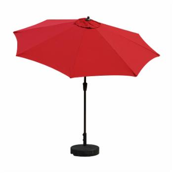 Bellini Home and Gardens 9 ft. Market Umbrella with Windvent and Auto Tilt