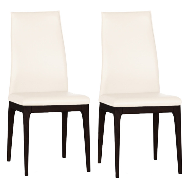 Bellini Modern Living Viola Dining Chair   Set Of 2