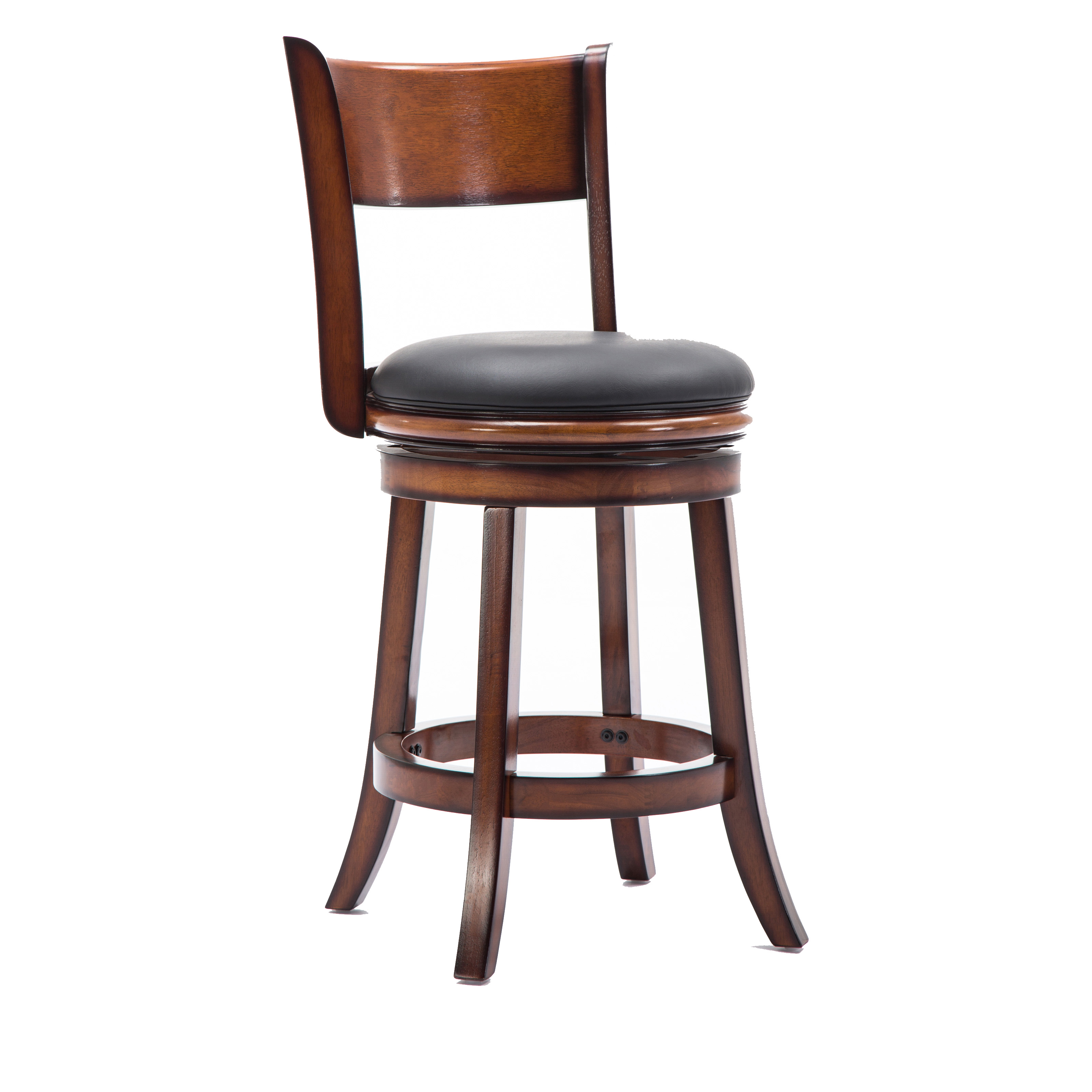 Boraam Palmetto 24 In Swivel Counter Stool Hayneedle